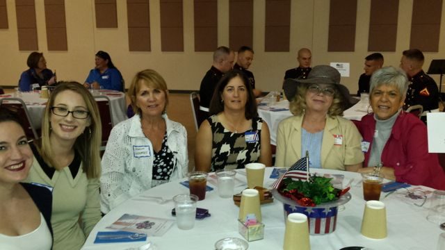 Neuse Realty Table at Salute to Women in the Military