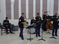 U.S. Military Band with New Bern Real Estate Agents
