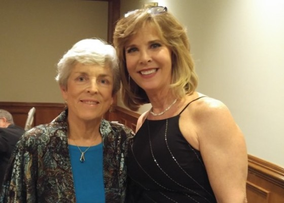 Margie Dunn and Comodore Louise Night